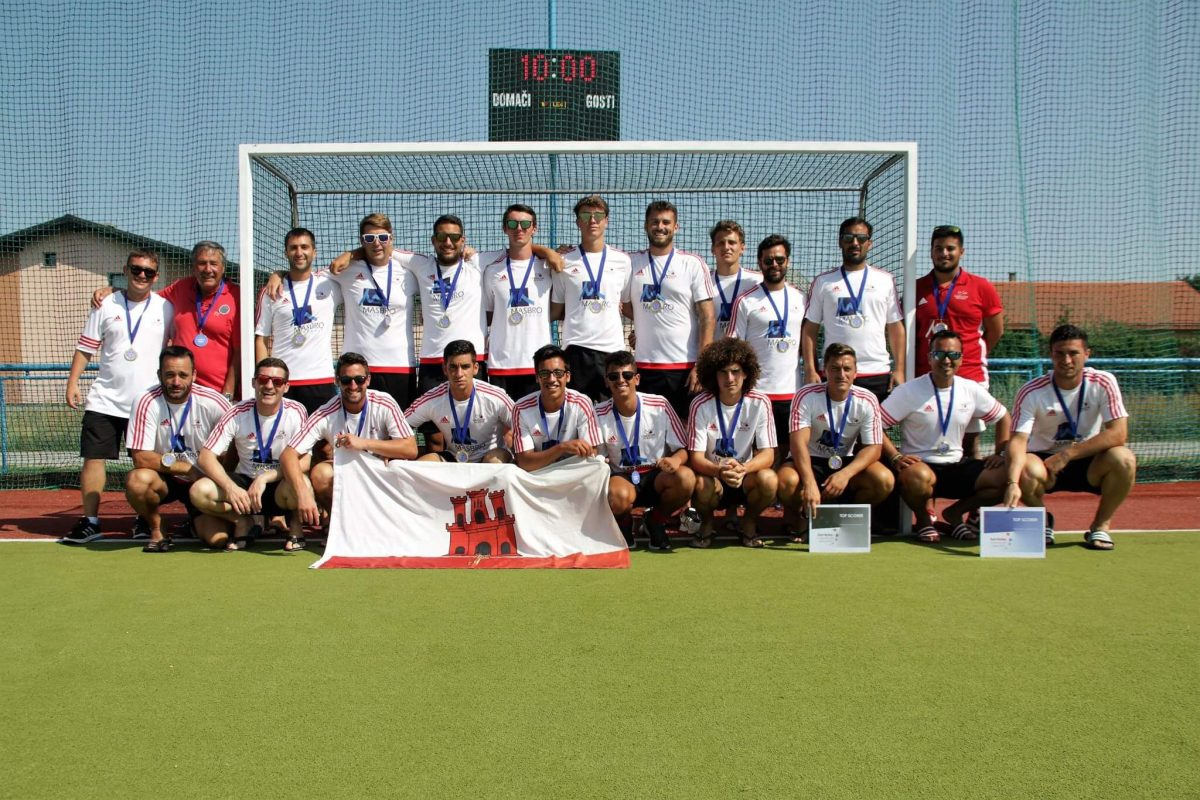 Masbro sponsor the Gibraltar national Hockey 1st XI